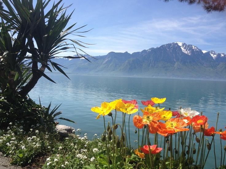 Montreux Zwitserland oftewel Switzerland