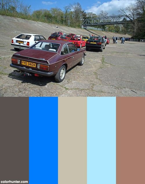 Lancia Beta Coupe Img_3161 Color Scheme