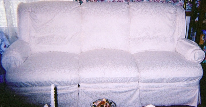 White Reclining Sofa Slipcover My Creations Pinterest Slipcovers And Diy Furniture