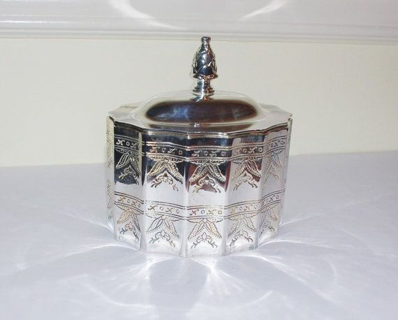 Silver Plated Museum Jewelry Box by by StetsonCollectibles on Etsy