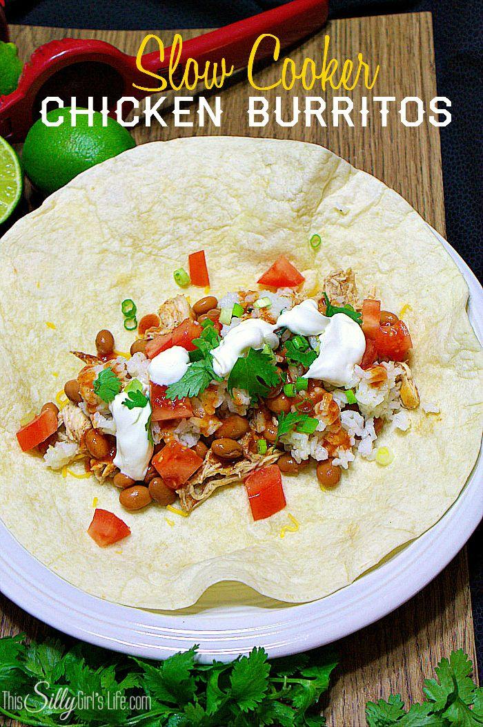 burrito recipe chicken and rice