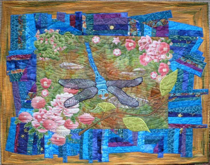 Dragonfly wallhanging
