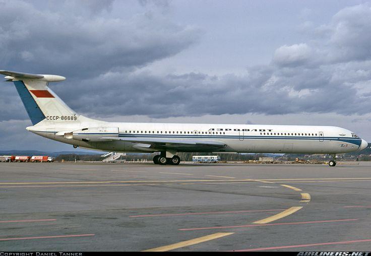 Aeroflot Il62 CCCP86689 first sighting Heathrow 28/10/71