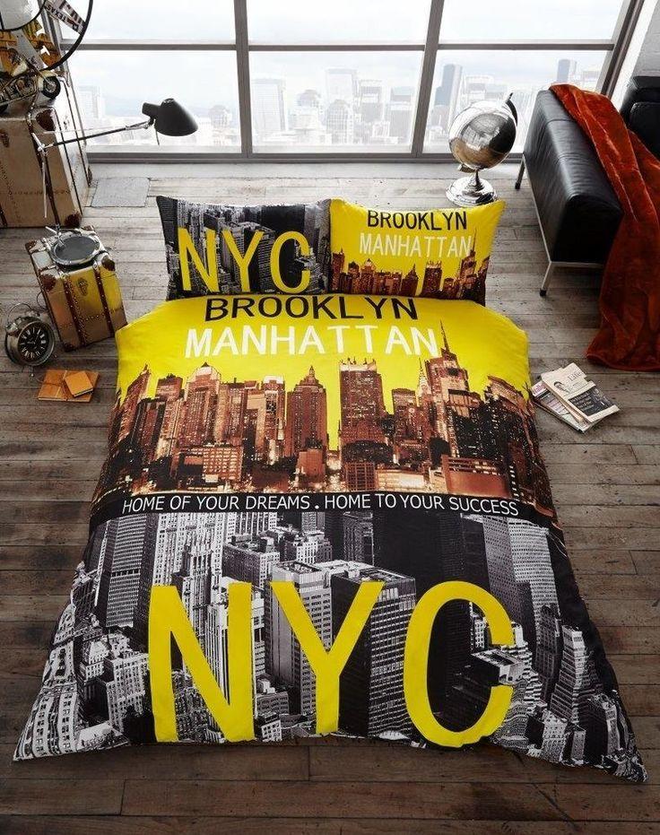 70 best New York Style Boys Bedroom Ideas images on Pinterest ... : new york city quilt - Adamdwight.com