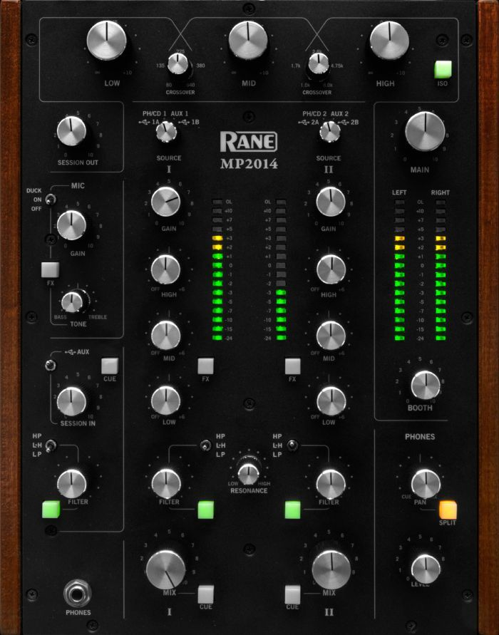 Rane MP2014 Two Channel Rotary DJ Mixer at Juno Records. Rane MP2014 Two Channel…
