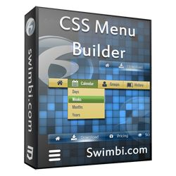 A good product box example - CSS Menu Builder by swimbi.com