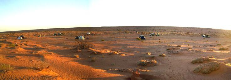 Simpson Desert camp 2007