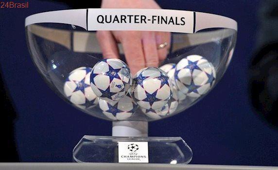 Sorteio da Liga dos Campeões: Confira o quadro das quartas de final!