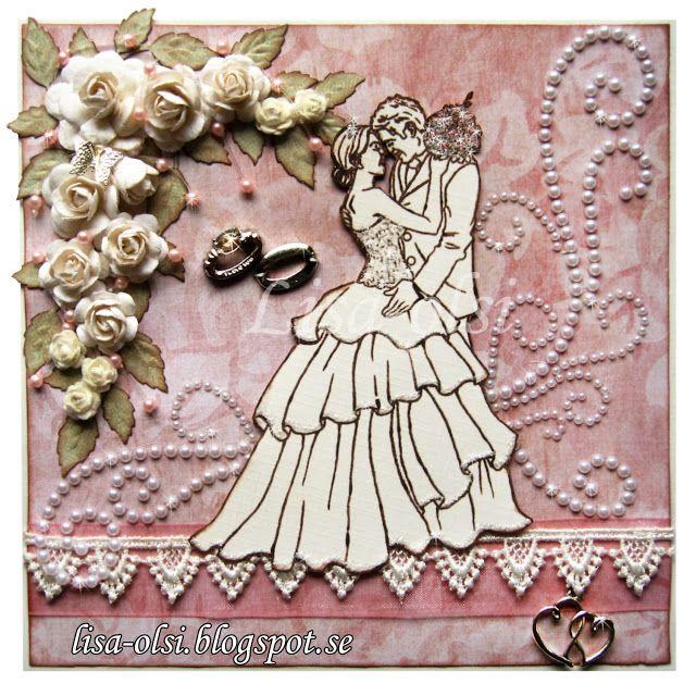 wedding card    http://lisa-olsi.blogspot.se/