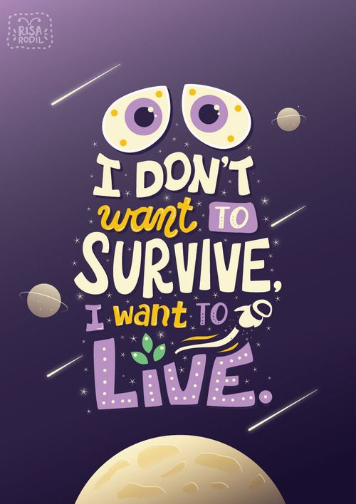 Art of Risa Rodil • Pixar Quote Posters 9/10: Wall-E