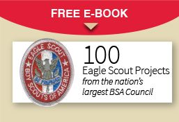 Eagle Scout project ideas & Eagle Scout Workbook Guidelines (may be out of date??).