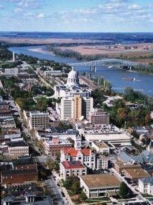 JEFFERSON CITY, MISSOURI,  city skyline