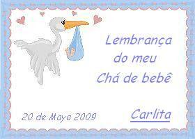 Recuerdo Baby Shower Carlita 2009