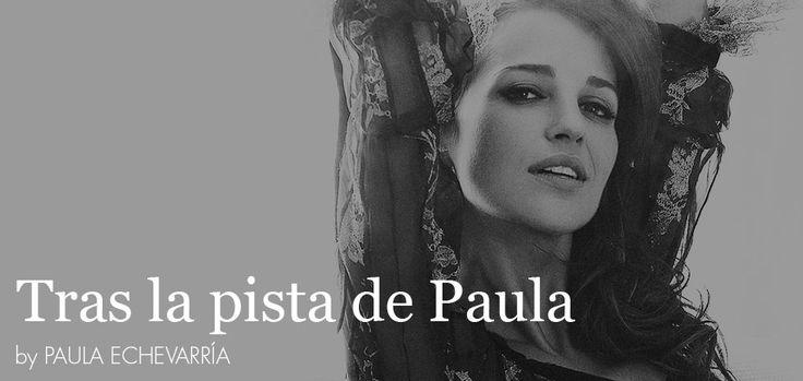 Tras la pista de Paula Echevarría » ¡¡¡ARRANCA 'VELVET'!!!