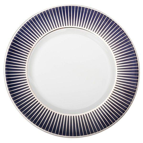 Assiette De Pr 233 Sentation Ronde En Porcelaine Boreal Eclat