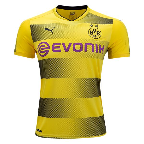 ⚡️ NEW ⚡️  Borussia Dortmund 2017/18 Home Jersey from Puma. Available now at WorldSoccershop.com
