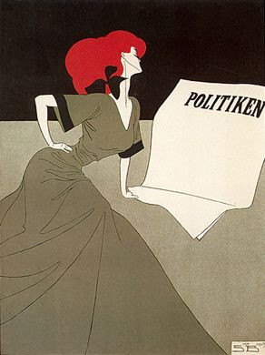 politiken plakat