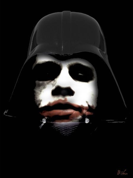 'Darth Joker' by giuseppe amato on artflakes.com as poster or art print $16.63