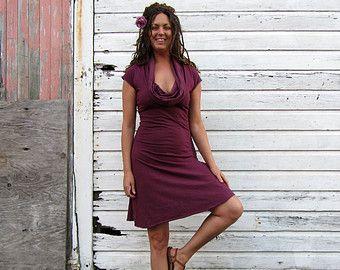 Gypsy Short Dress (light hemp/organic cotton knit)