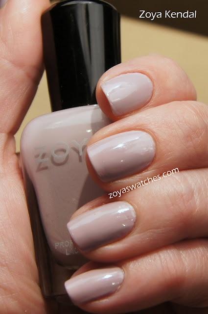 Zoya Nail Polish Kendal- perfect shade for a job interview
