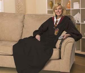 Harry Potter Snuggie Blanket. WHY DON'T I OWN THIS?