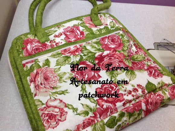 Bolsa P/livro de colorir(jardim secreto)