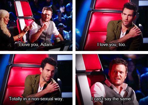 Adam Levine & Blake Shelton - YES! LOVE THEM