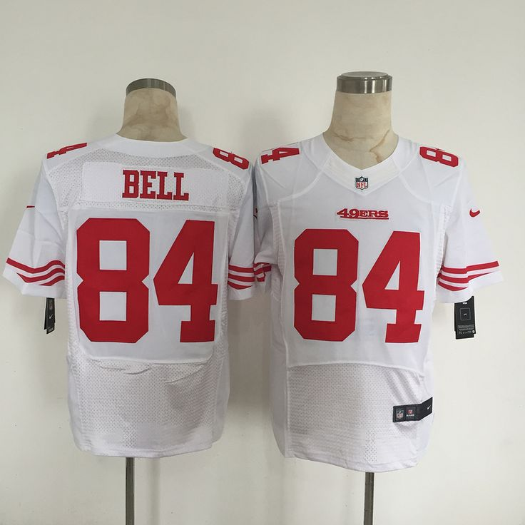Mens Nike San Francisco 49ers 84 Blake Bell Elite Limited NFL Jerseys White http://www.wholesalejerseyclearance.com/san-francisco-49ers_gc120_1_15.html
