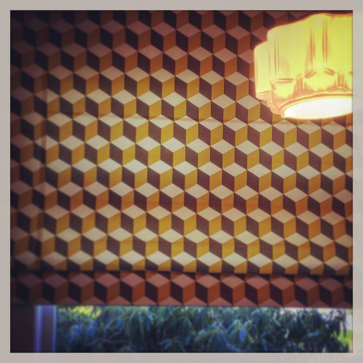 Cube blind...deco house