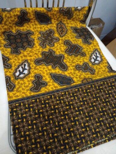 Amoeba pattern batik katun semi cap