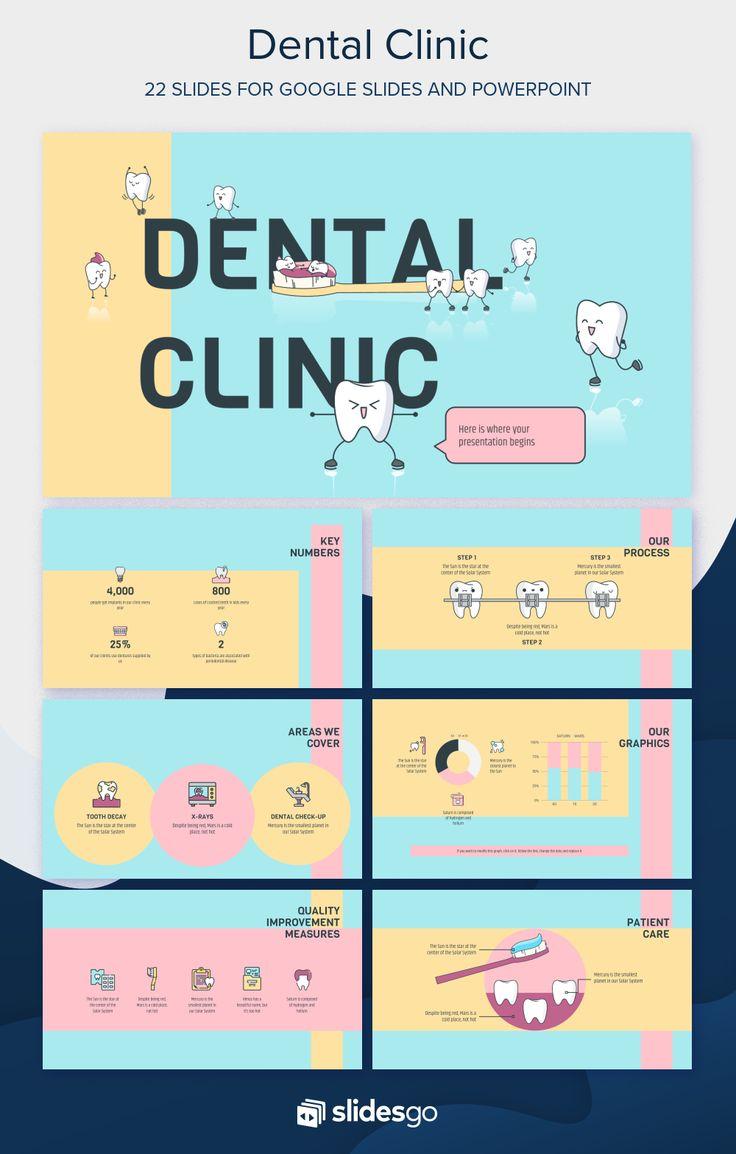 Dental Clinic Presentation Free Google Slides theme and