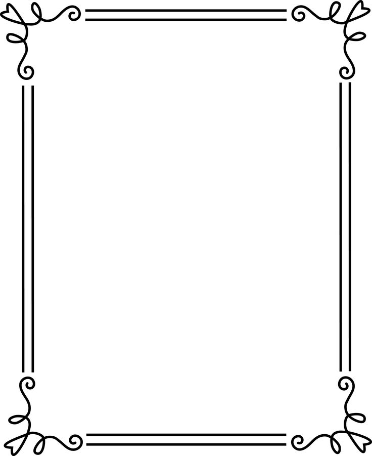 Best 25+ Borders and frames ideas on Pinterest Doodle borders - certificate borders free download