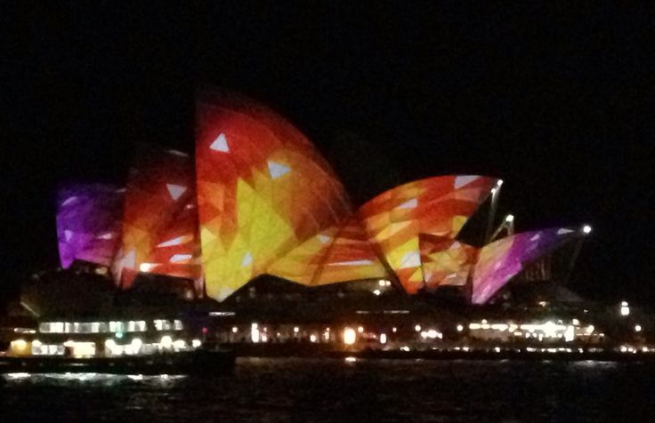 Opera House during The Festival of Light