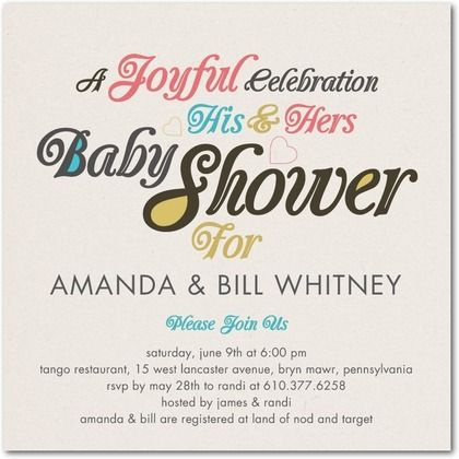 Tiny Prints Baby Shower Invitations with beautiful invitations sample