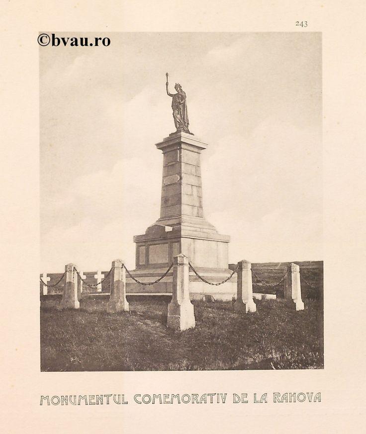 """Monumentul Comemorativ de la Rahova, 1902, Romania. Ilustrație din colecțiile Bibliotecii Județene """"V.A. Urechia"""" Galați. http://stone.bvau.ro:8282/greenstone/cgi-bin/library.cgi?e=d-01000-00---off-0fotograf--00-1----0-10-0---0---0direct-10---4-------0-1l--11-en-50---20-about---00-3-1-00-0-0-11-1-0utfZz-8-00&a=d&c=fotograf&cl=CL1.44&d=J245_697980"""