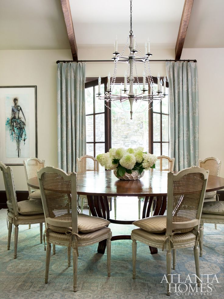 A round table from Ainsworth Noah serves feels anything but formal thanks  to cane. 427 best  DINING SPACES  images on Pinterest   At home  Beautiful