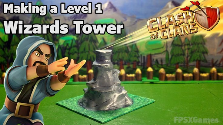 Making a Clash of Clans Wizards Tower