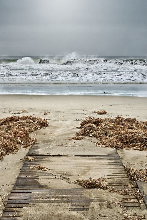 so inviting...looks exactly like our walk to the beach at Holden Beach, SC.