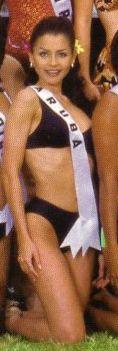 Wendelyne Esther Laclé - Miss Universe Aruba 1998
