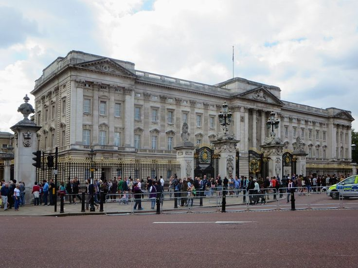 Buckingham Palace in London, England, has been a residence of British monarchy since 1837.