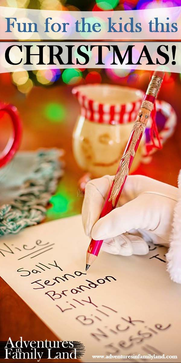 A personalised Santa letter makes a lovely Christmas surprise for the kids.