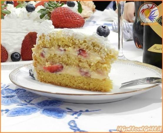 » Torta Di Compleanno Alle Fragole
