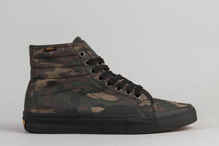 """Vans """"Black & Camo"""" Pack: AV Classic High & Style 112 Pro - EU Kicks Sneaker Magazine"""