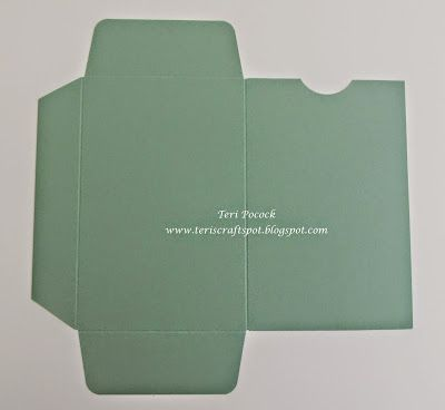 Gift Voucher Wallet - With The Gift Bag Punch Board