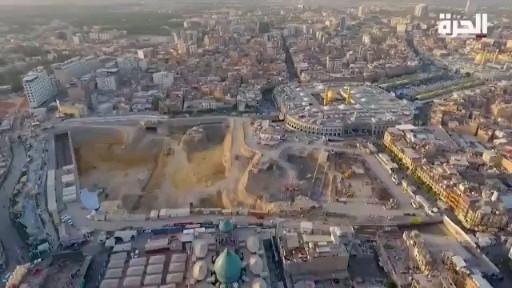 فساد المراجع والعتبات بسبب هذه التقارير تم احراق عدد من مكاتب الفضائيات في العراق Video City Photo Aerial Painting