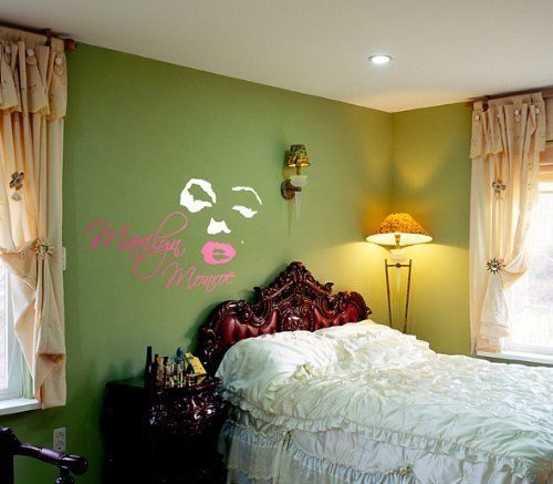 94 best marilyn monroe wall decals images on pinterest | wall