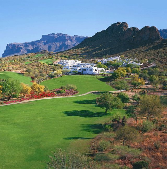Golf Courses in Arizona - A Photo Gallery: The Golf Course at Gold Canyon Resort, Scottsdale, AZ #beautifulgolfcourses