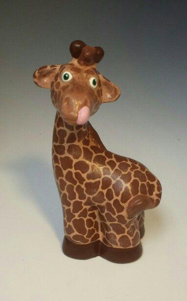 124 Best Art Ceramic Giraffe Images On Pinterest