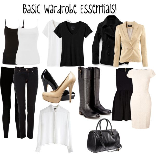 """Basic Wardrobe Essentials!"" by ashley-teague on Polyvore"