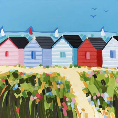 colors again....Janet Bell Gallery - art and hand made crafts from the seaside
